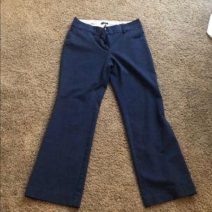 Navy Blue LOFT Trousers, Size 4